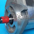 采用SP齿轮设计的润滑齿轮泵,齿轮经滚齿